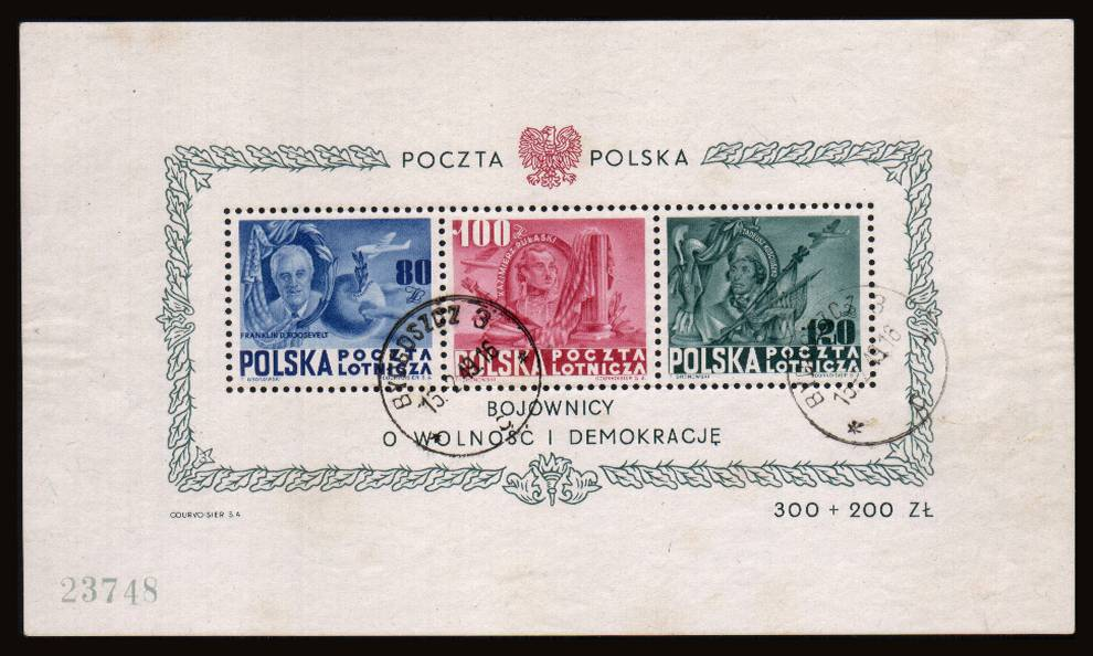 Honouring Presidents Roosevelt, Pulaski and Kosciuszko<br/>