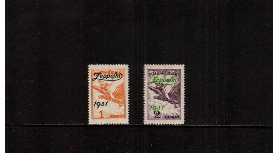 ''Graf Zeppelin'' - AIR - Flight to Hungray<br/>
