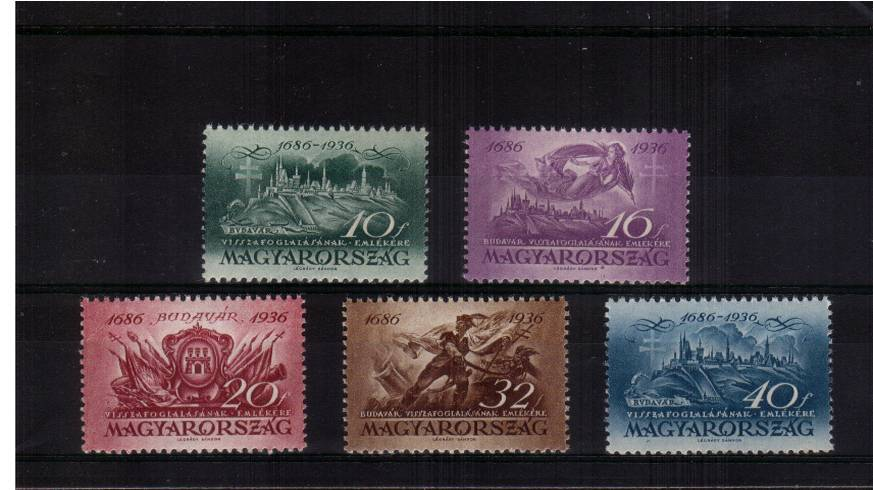 250th Anniversary of Recapture of Buda from Turks<br/>