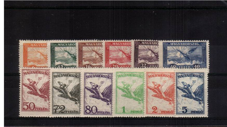 The AIR set of twelve lightly mounted mint.<br/>SG Cat �.00