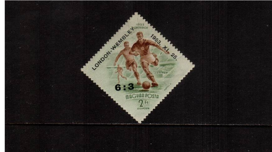 Hungarian Football Team's Victory at Wembley<br/>