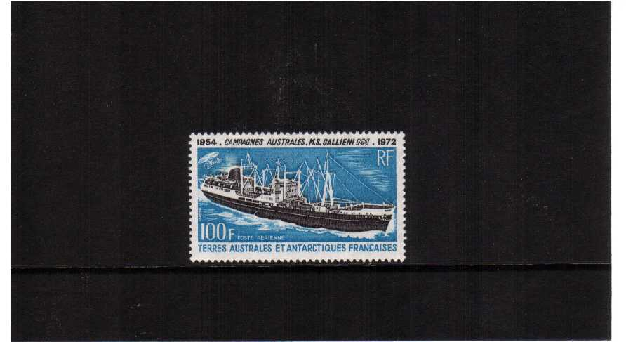 Antarctic Voyages single superb unmounted mint