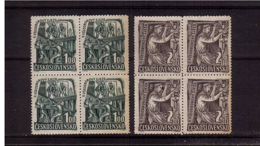 Second Trades Union Congress - Prague.<br/>