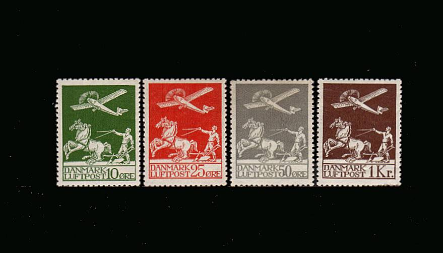 The AIR set of four superb unmounted mint. A lovely bright and fresh set.<br/>A very rare set to find unmounted. SG Cat for mounted �0