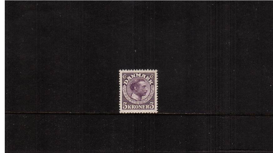 5K Violet - King Christian X<br/>