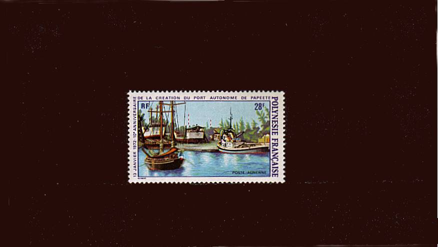 Autonomous Port single superb unmounted mint. SG Cat �