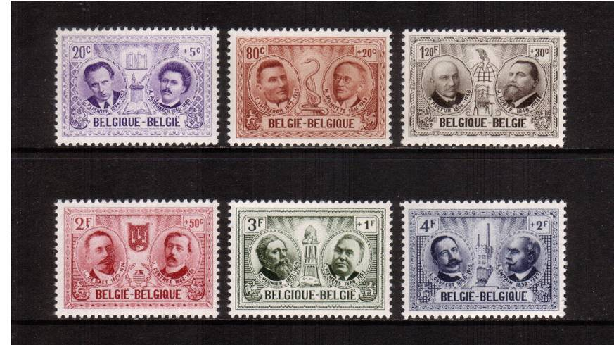 Cultural Relief Funds - Portraits of Belgium Cultural Celebrities<br/>