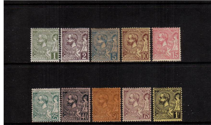 The Prince Albert set to the 1F Black on Yellow<br/>