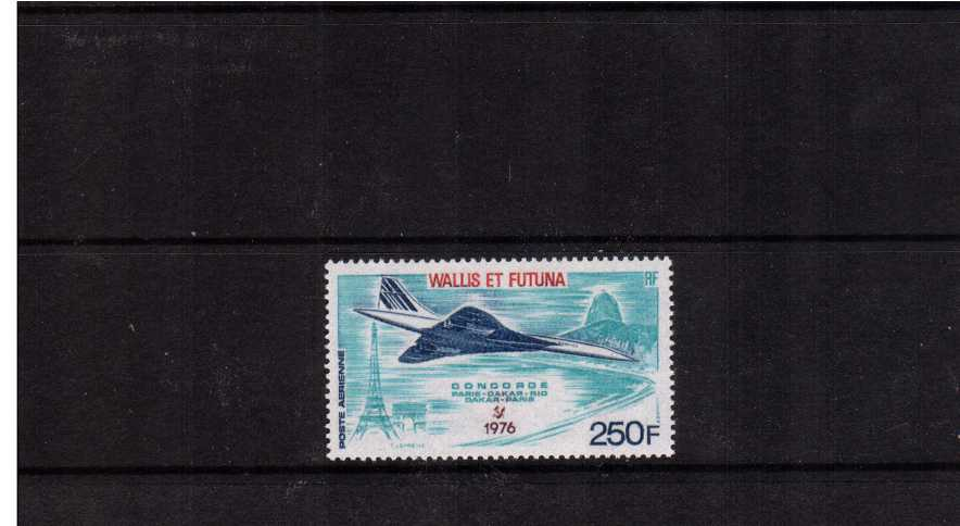First Commercial Flight of Concorde single superb umounted mint. SG Cat �34.00