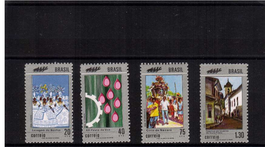 Tourism set of three superb unmounted mint. SG Cat �