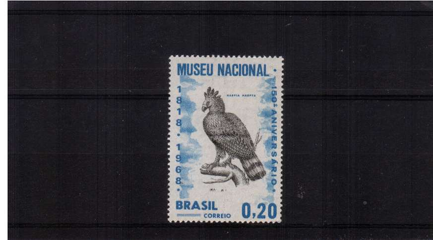 150th Anniversary of National Museum - Bird stamp superb unmounted mint.