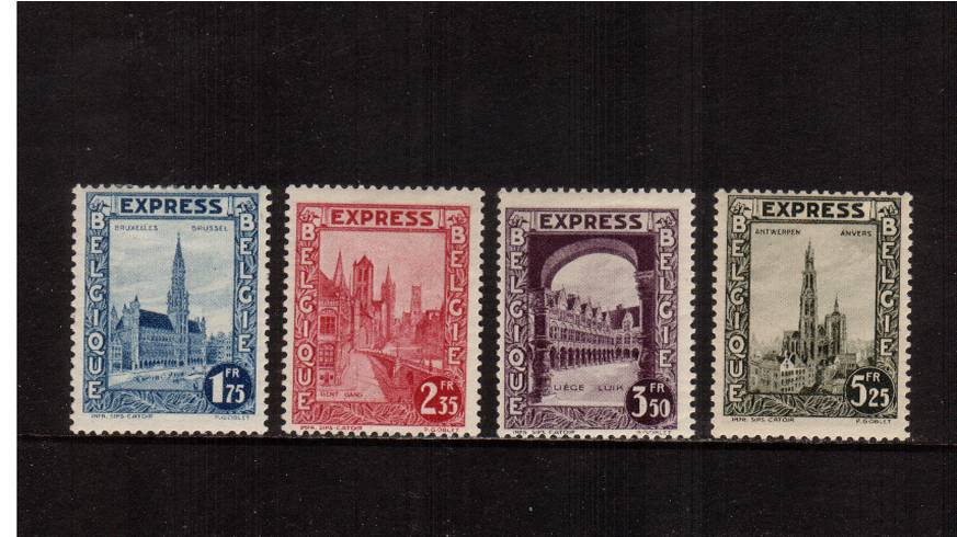 The EXPRESS LETTER set of four lightly mounted mint.<br/>SG Cat �